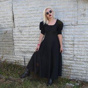 Vintage Southeastern Black Gown